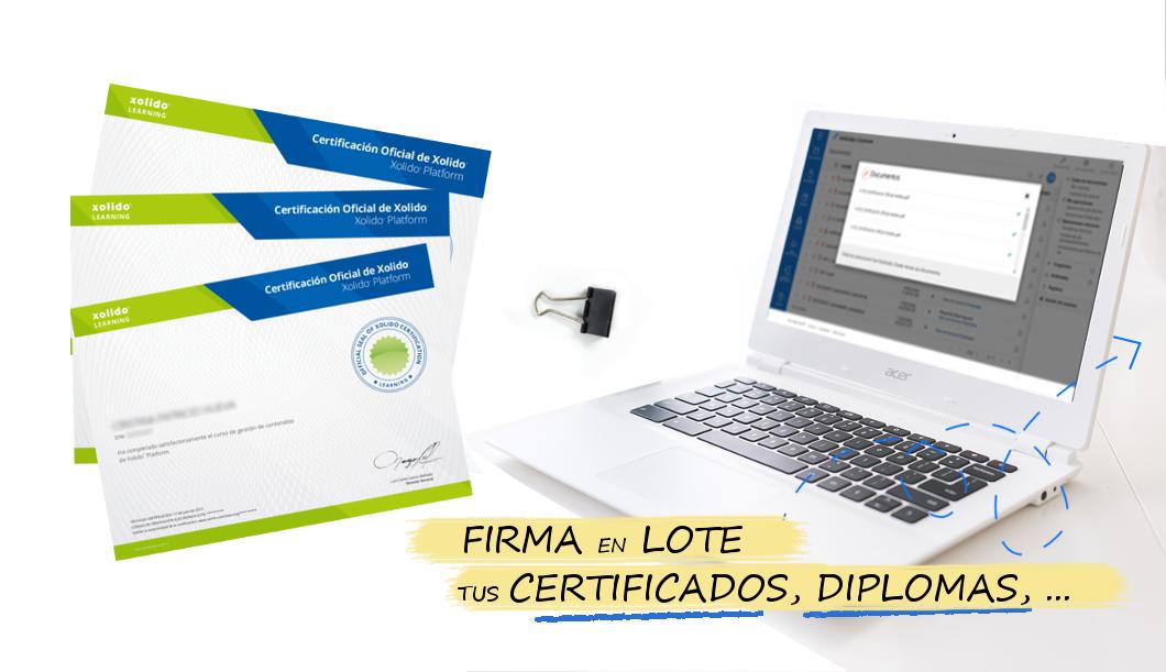 ¡Firma en lote y envía tus documentos de forma segura!
