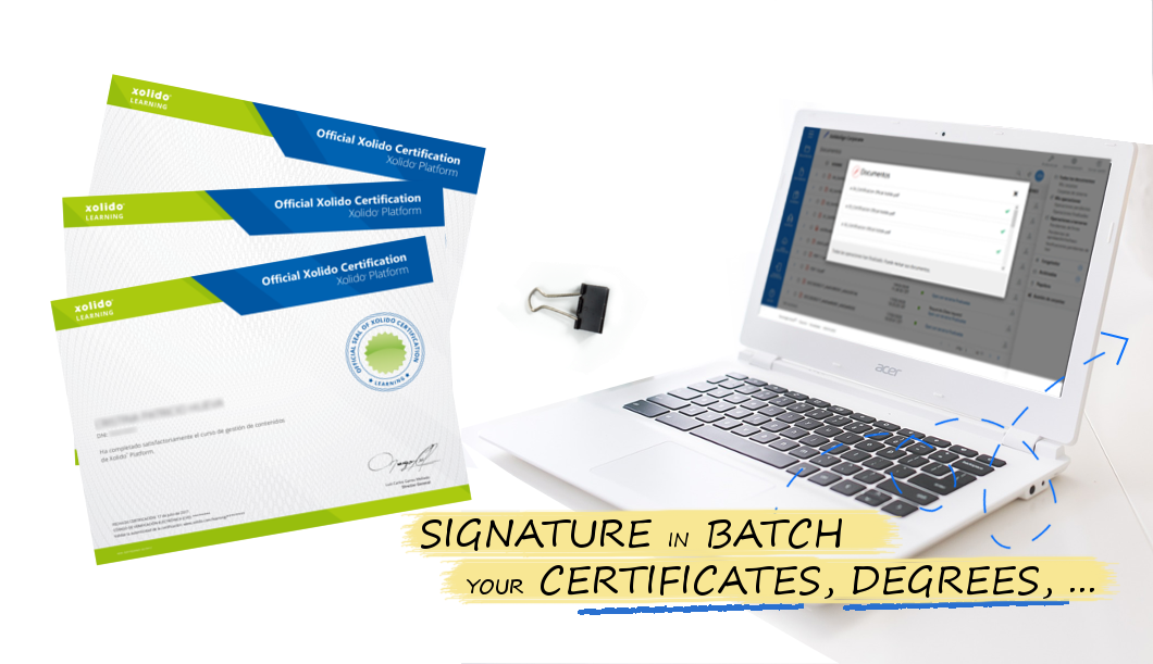 Sign in batches and send your documents securely!
