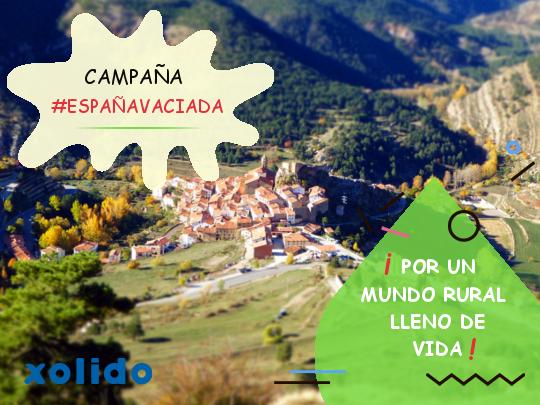 Campaña #Españavaciada. XolidoSign Professional. Por un mundo rural lleno de vida.