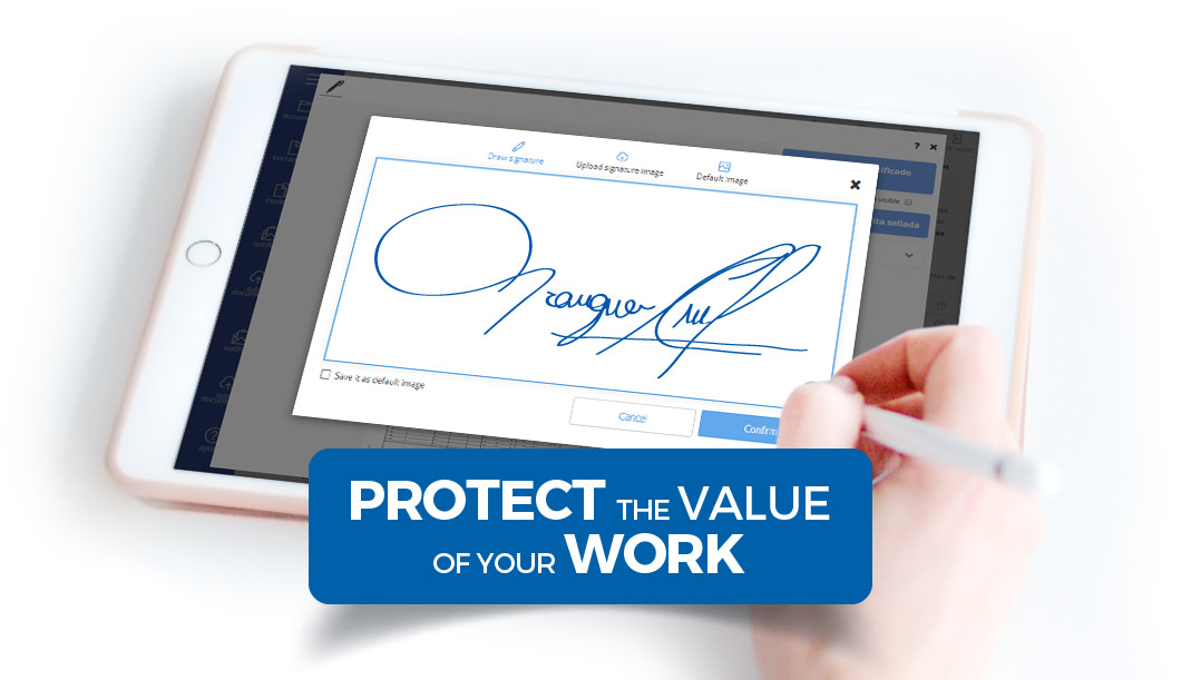Protect the value of your work
