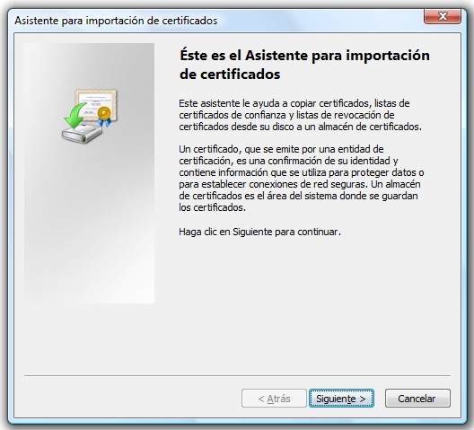 How to install a certificate in the Windows certificate store?